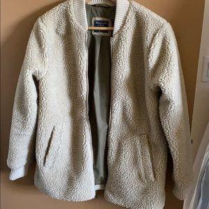 Abercrombie& Fitch teddy zip jacket